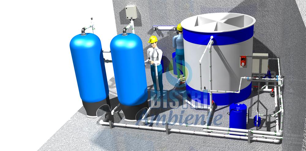 Plantas de tratamiento para agua potable distriambiente - Tratamientos de agua ...